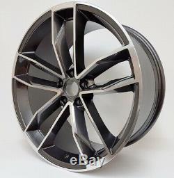 19 Roues Alliage Audi A3 A4 A6 A8 Tt Golf Passat Seat Skoda 5x112 R8 Gb Style