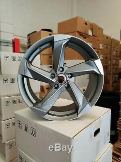 19 Roues Alliage Audi a3 a4 a6 a8 Tt Golf Passat Seat Skoda 5x112 Rotor Style