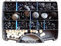 260 Pièces Clips de Fixation Kit Boite Pour Audi BMW Opel Ford Skoda Mercedes VW