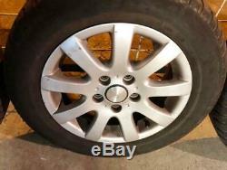 4 Roues Volkswagen Golf V Audi Passat+ Pneus 195/65/15