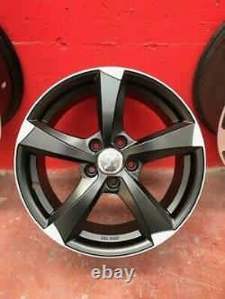 4 Roues gmp Ican 19 Pouce NAD VW Tiguan Golf Passat Audi A3 A4 Tt Q2 Q3
