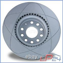 Ate Power Disc Disques + Plaquettes De Frein Avant Vw Golf Alltrack Ba Passat 3g