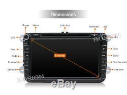 Autoradio pour VW Passat Golf Tiguan Android 8.10 GPS Navi Car DVD Wifi DAB USB