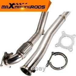 Decat Exhaust Pipe Downpipe pour VW Golf V VI Jetta Passat CC Scirocco 2.0 GTI