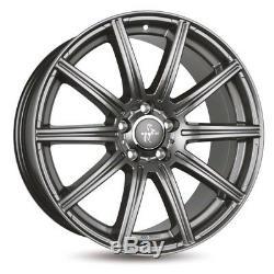 Keskin KT16 8,5x19 Et45 Pp 225/35 R19 Syron Audi A3 Tt Seat Leon VW Golf Passat