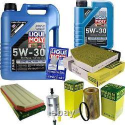 LIQUI MOLY 6L Longue Date High Tech 5W-30 Huile + Mann Pour VW Golf VI 5K1 V
