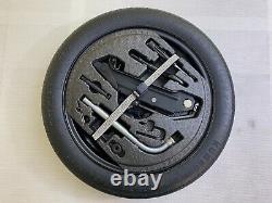 Neuf Kit complet Galette roue secoure 125/70R16 Vw Golf 5 6 7 Passat Audi A3 OEM