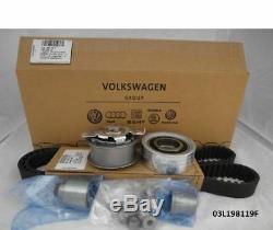 ORIGINAL Audi VW Kit de distribution A3 A5 Q3 Golf Passat T5 03L198119F