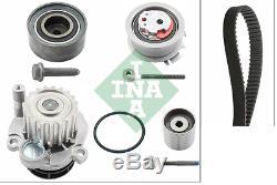 Pompe à eau + Set sangles dentelé INA 530040530 AUDI A3 A4 A6 VW PASSAT GOLF V