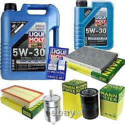Révision D'Filtre LIQUI MOLY Huile 6L 5W-30 Pour VW Golf IV 1J1 1.6 2.0