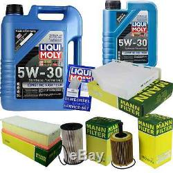 Révision D'Filtre Liqui Moly Huile 6L 5W-30 pour VW Passat Variant 3C5 2.0
