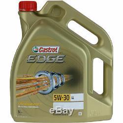 Révision Filtre Castrol 10L Huile 5W30 pour VW Golf IV Variant 1J5 1.9