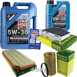 Révision Filtre LIQUI MOLY Huile 6L 5W-30 Pour VW Golf VI 5K1 2.0 Gti