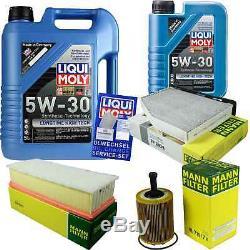Révision Filtre Liqui Moly Huile 6L 5W-30 pour VW Passat Modèle 3C5