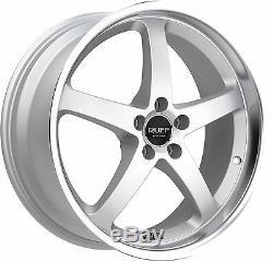 Ruff Course R357 8x18 5x112 Jantes pour Audi A3 A4 A5 A6 VW Passat Golf Seat