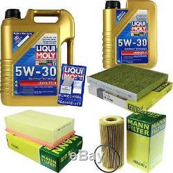 Sketch D'Inspection Filtre Liqui Moly Huile 6L 5W-30 pour VW de Golf VII 5G1