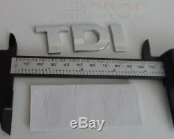Sticker logo TDI emblème insigne VW Volkswagen audi Seat Golf Ibiza Polo passat