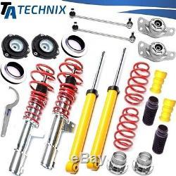 Ta-Technix Combinés Filetés + Barres D'Accouplement, Palier VW Golf 5 / Passat 3C