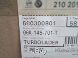 Tout Neuf Audi A1 Tt VW Golf Passat Polo Skoda Seat Leon Turbocharger 06K145701T