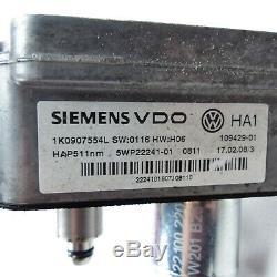 Unité Différentiel Haldex 1K0907554L Audi A3 8P Tt VW Golf 5 Passat 3C B6