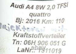 VW Audi A4 8W 2.0TFSI Injecteur Vanne 4x 06L906031A Distributeur de Carburant