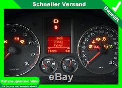 VW Équipement Hbm 6 Rayon EOS Jetta Passat Touran Golf Audi A3 Skoda Octavia