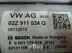 VW Golf 7 VII 5G Passat B8 Touram 5T 2,0TDI Original Démarreur 02Z911024Q